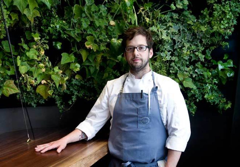 Chef Matt Lightner On Atera's New Downstairs Bar and Drinks Made With Hot Pokers