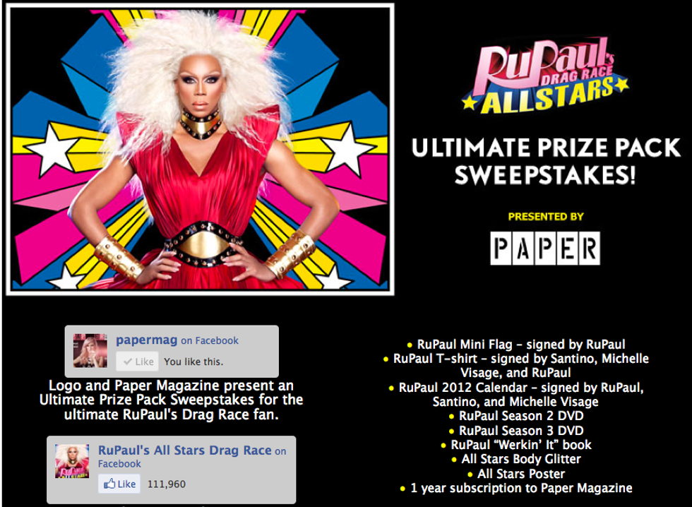 Win A RuPaul's Drag Race All Stars Prize Pack!