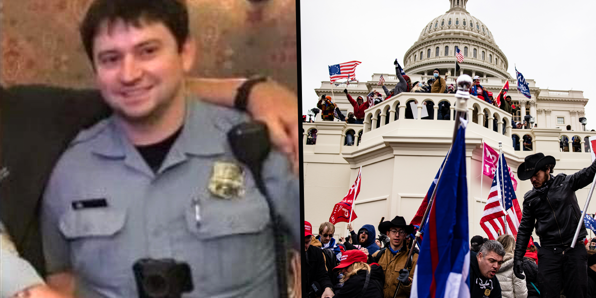 A Second Police Officer Who Responded to Capitol Riots Has Died By Suicide
