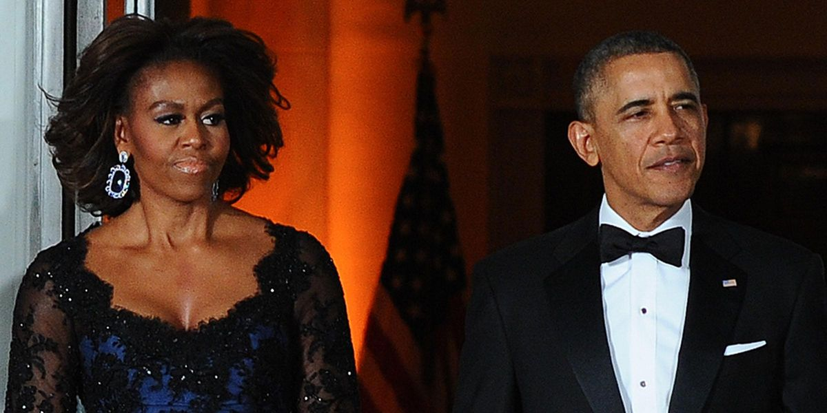 Michelle Obama Overheard 'Yelling' at Barack at the Inauguration