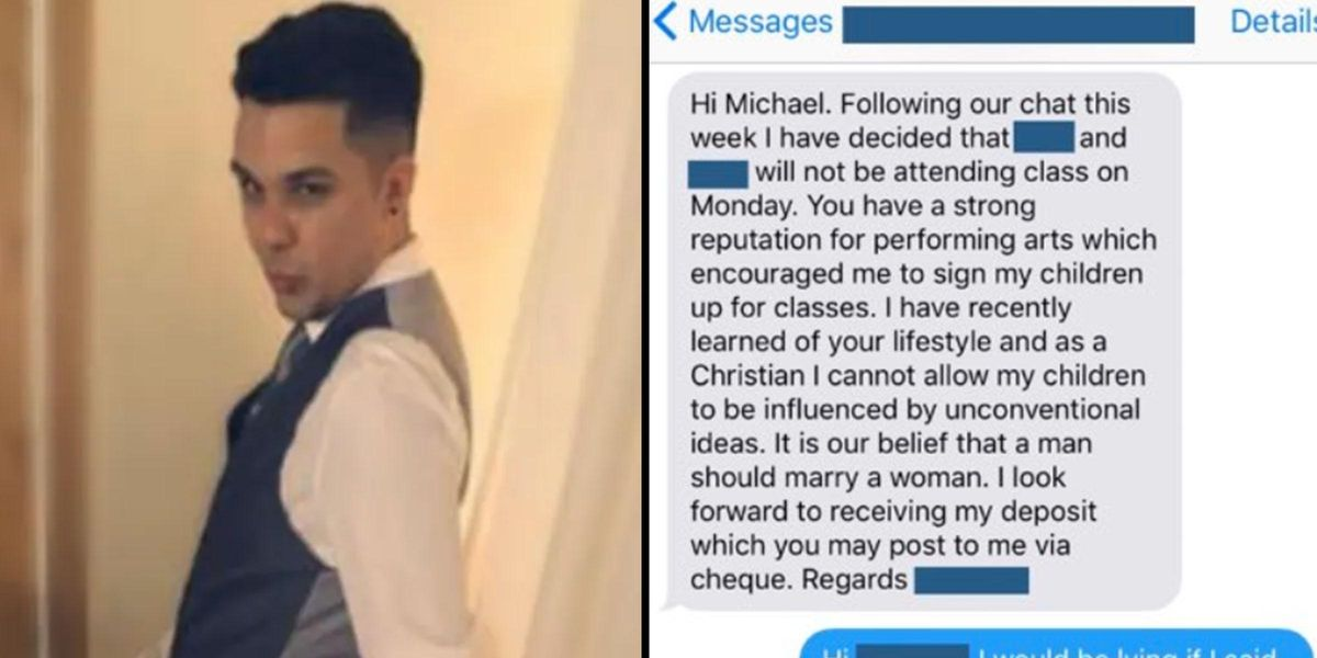 Gay Teacher Perfectly Shuts Down Homophobic Mom Who Pulled Her Kids From His Class