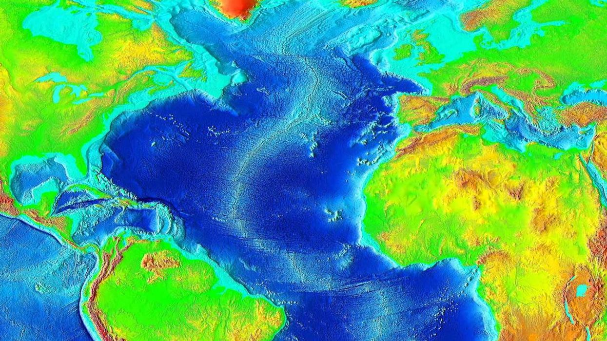 The Atlantic Ocean Is Getting Wider, Scientists Think They Know Why