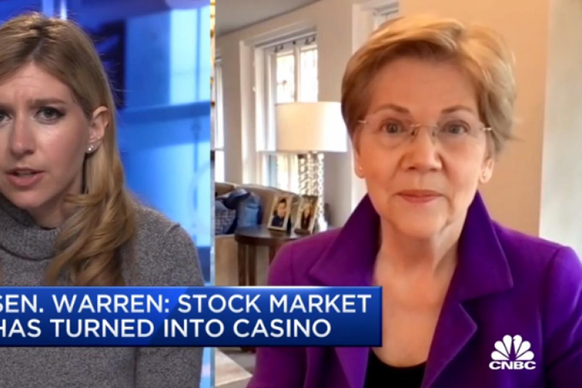 Elizabeth Warren simply destroys CNBC host over two-cent wealth tax propaganda