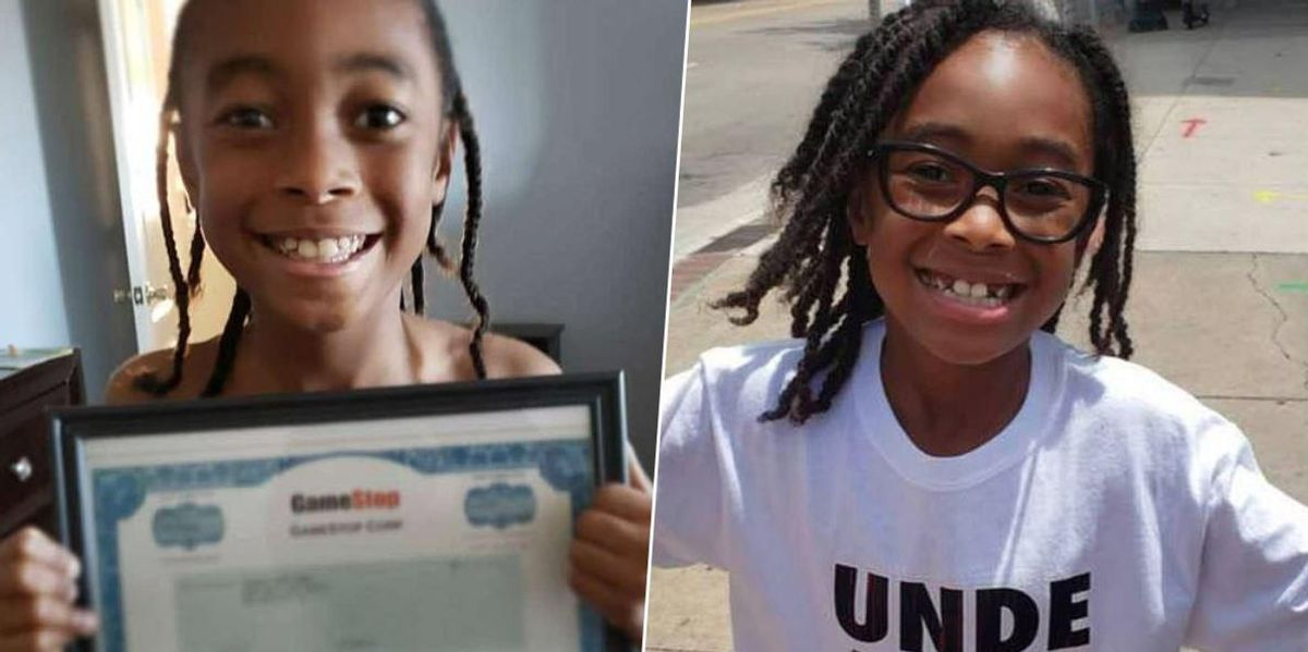 10-Year-Old Cashes in GameStop Shares He Got as Kwanzaa Present