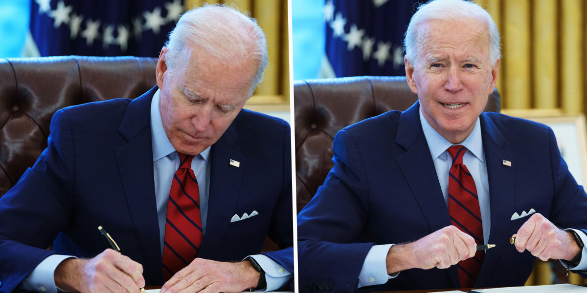 Joe Biden Signs a Record 40 Executive Actions in His First Week in Office