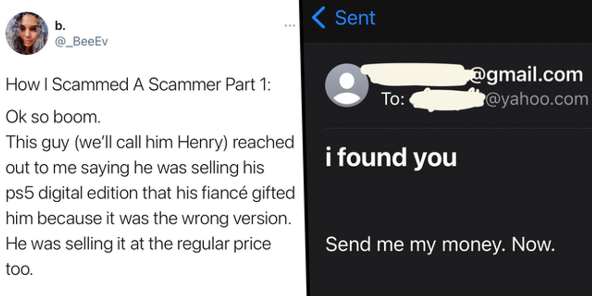 Scammer 'Sells' Disabled Woman PS5 For $450 But Never Sends It So She Messes Up His Life