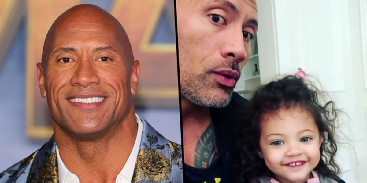 Dwayne Johnson Under Fire After Posting Controversial Photo of His Daughter
