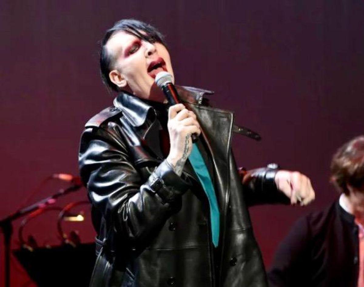 Los Angeles police probe Marilyn Manson violence allegations