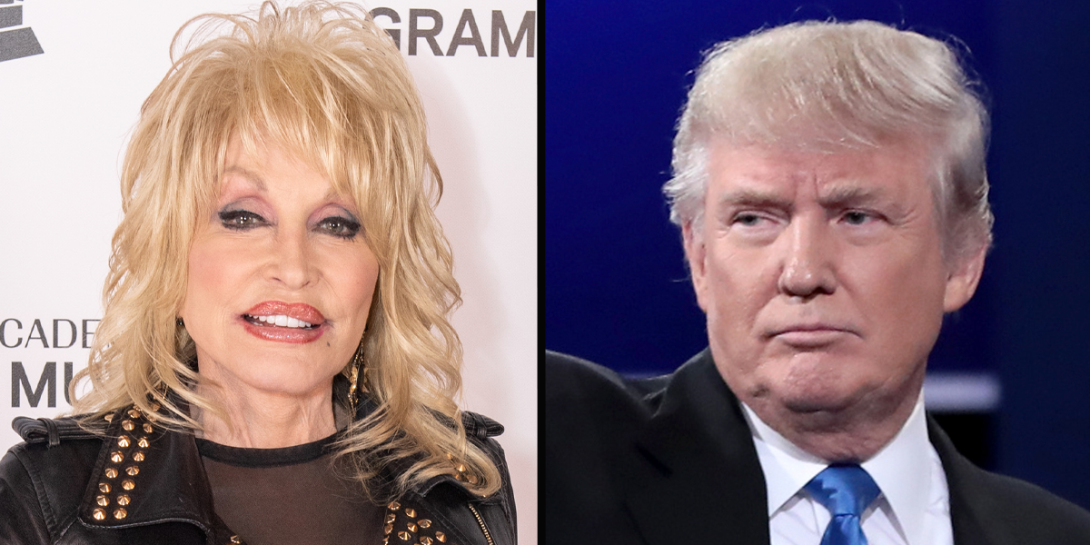 Dolly Parton Says She Turned Down a Donald Trump's Presidential Medal of Freedom Offer Twice