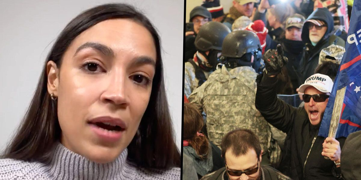 AOC Says She's a Sexual Assault Survivor and That Capitol Riots Triggered PTSD