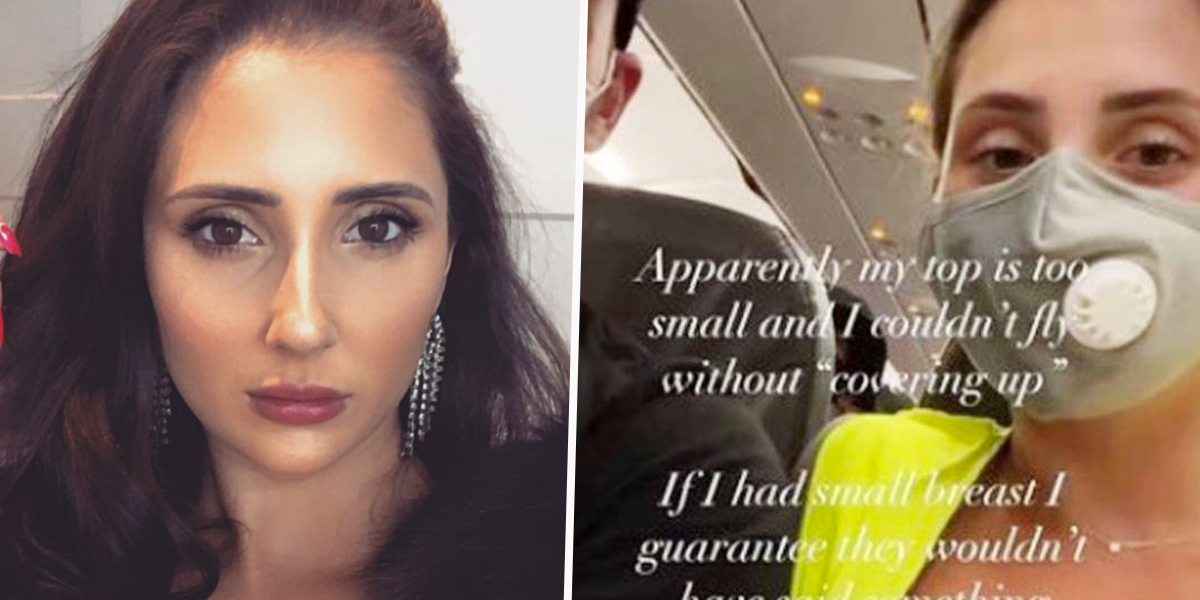 Airline Apologizes To Woman After She Was Told To Cover up Her 'Inappropriate' Outfit