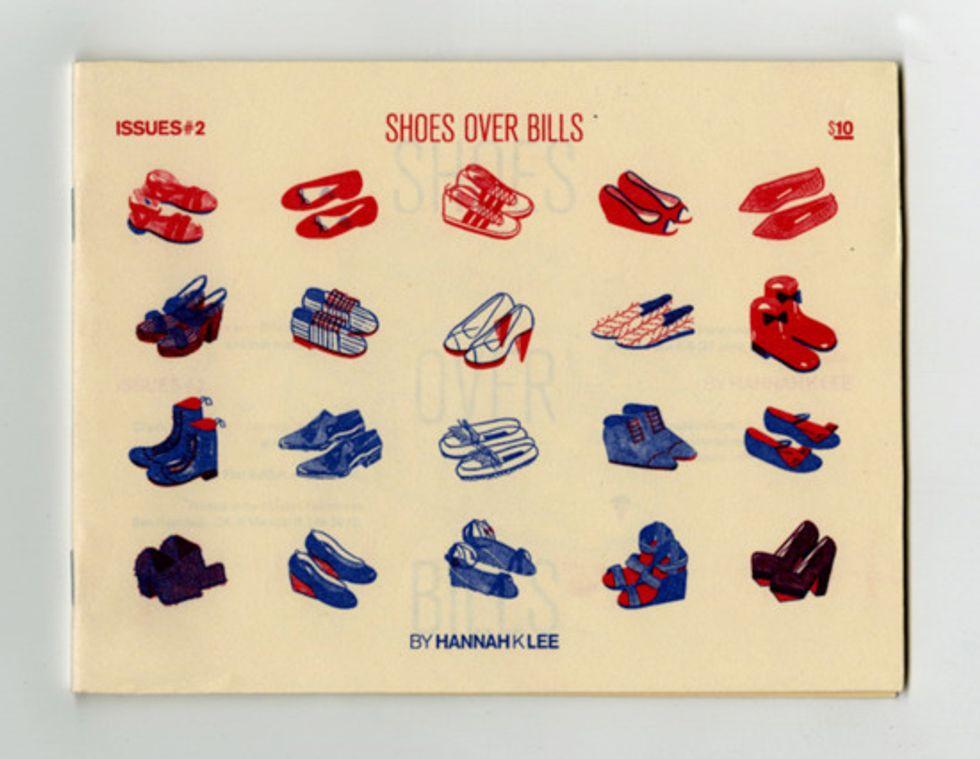 Shoes Over Bills: The Zine