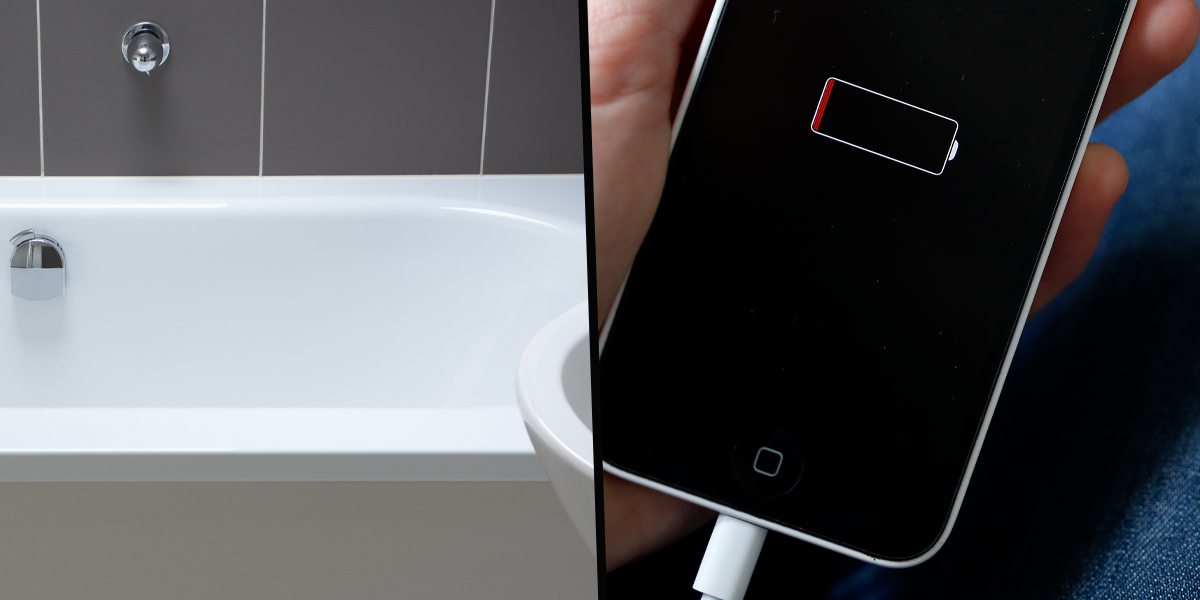 Mom Sends Warning After 12-Year-Old Son Dies When Charging Phone Falls into Bathtub