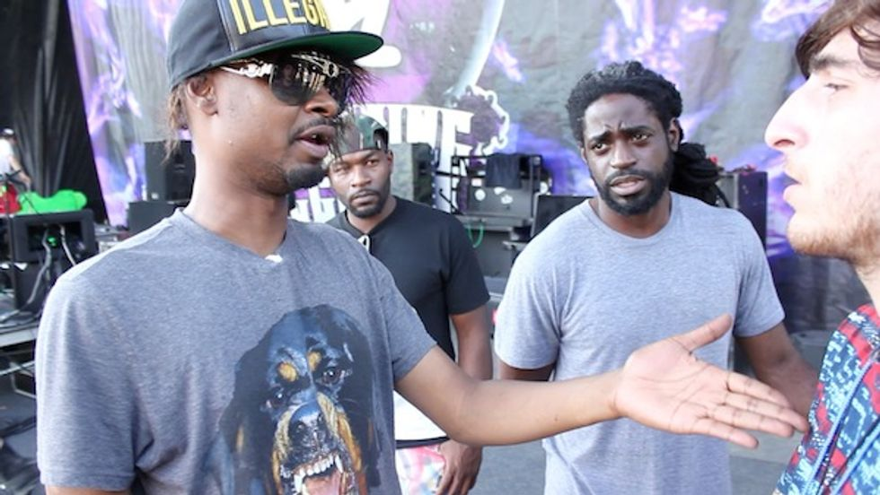 """Danny Brown Recaps The Gathering of the Juggalos: """"I Ate Three Funnel Cakes, To Be Honest"""""""