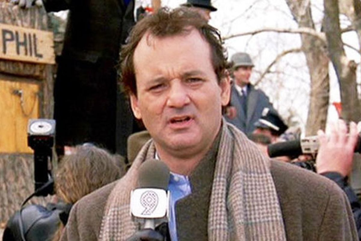 Stuck inside this Groundhog Day? Be like Phil the weatherman, and try some mindfulness