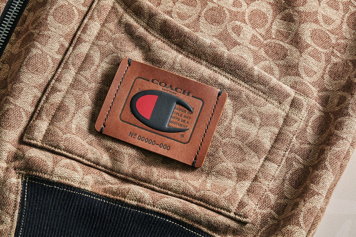 This Coach x Champion Logo Just Feels Right