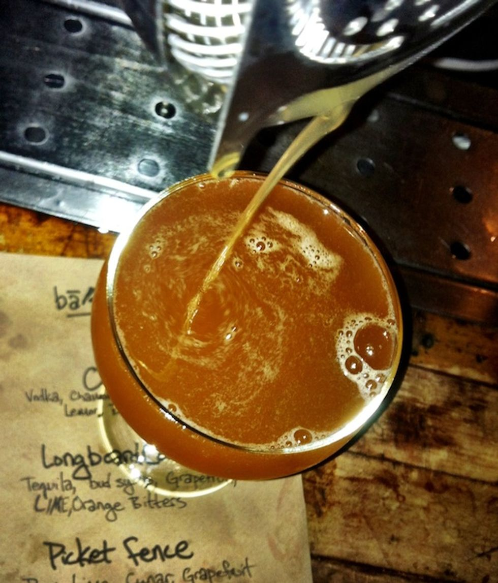 Cocktail of the Week: The Picket Fence at Ba'sik