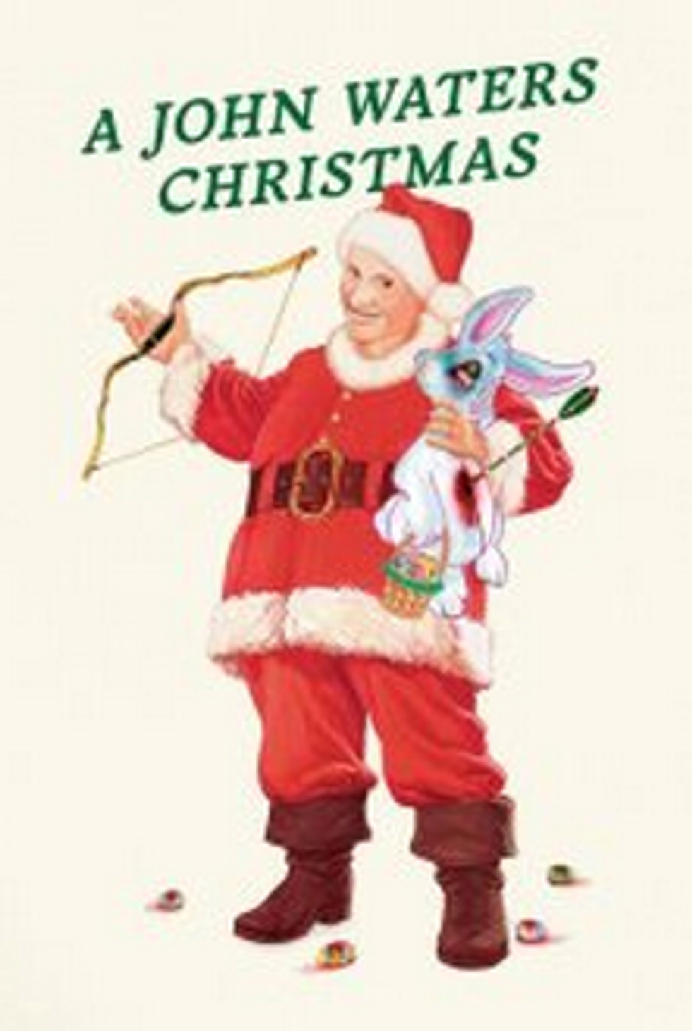Men and Women Can't Be Friends + John Waters' Christmas Show = Eight Items Or Less