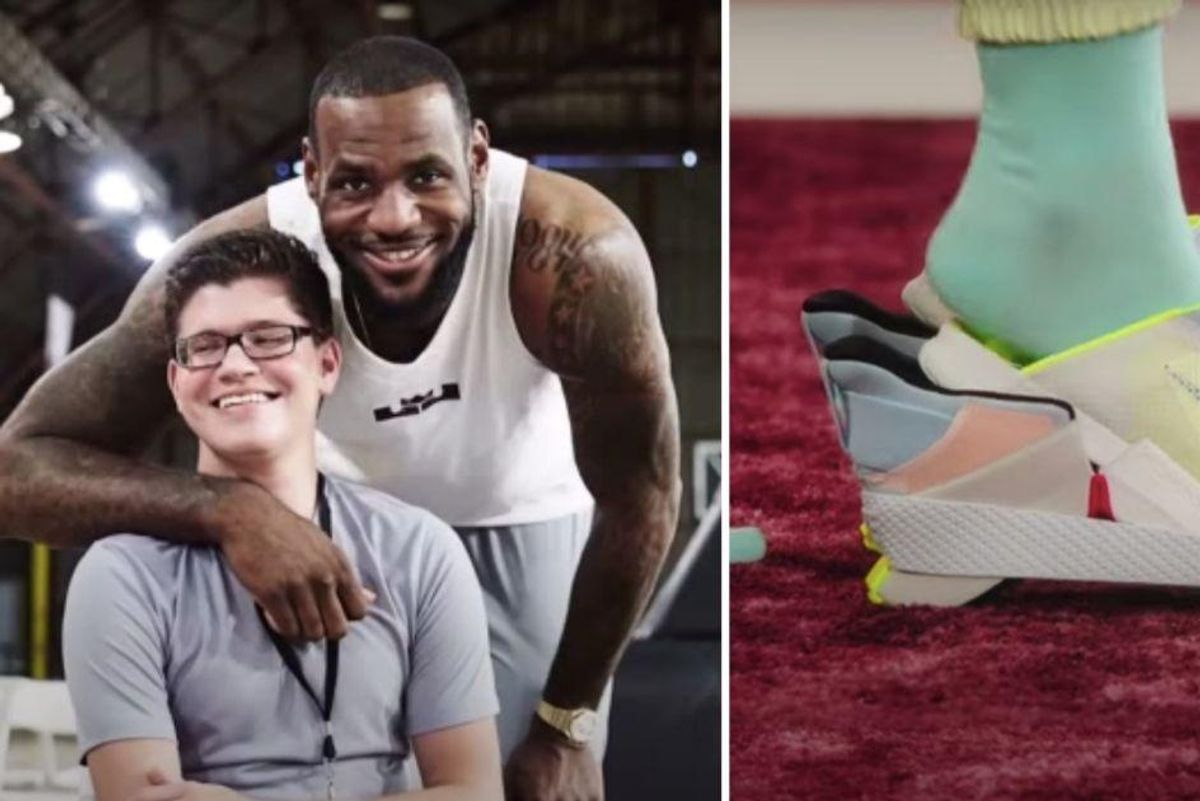 A teen with cerebral palsy asked Nike for more accessible shoes—and they keep on delivering
