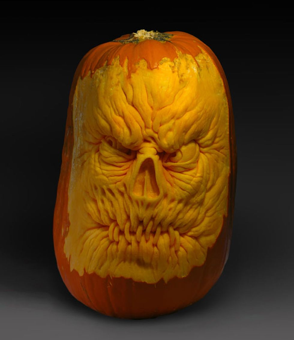 Incredible (and Really F*cking Scary) Carved Pumpkins by Artist Ray Villafane