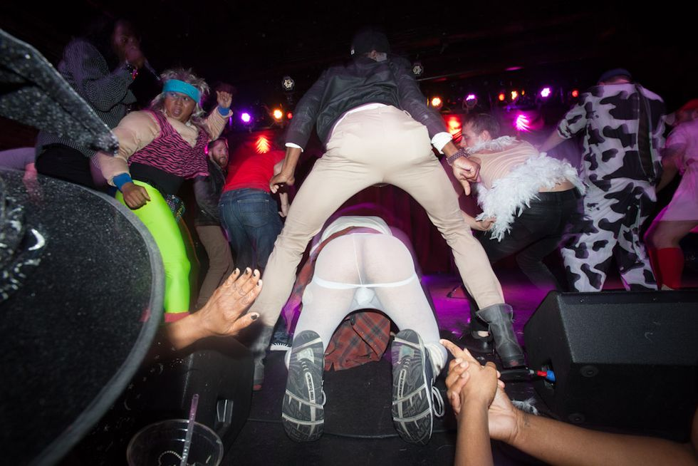Big Freedia + Brenmar's Azz-o-ween at the Brooklyn Bowl