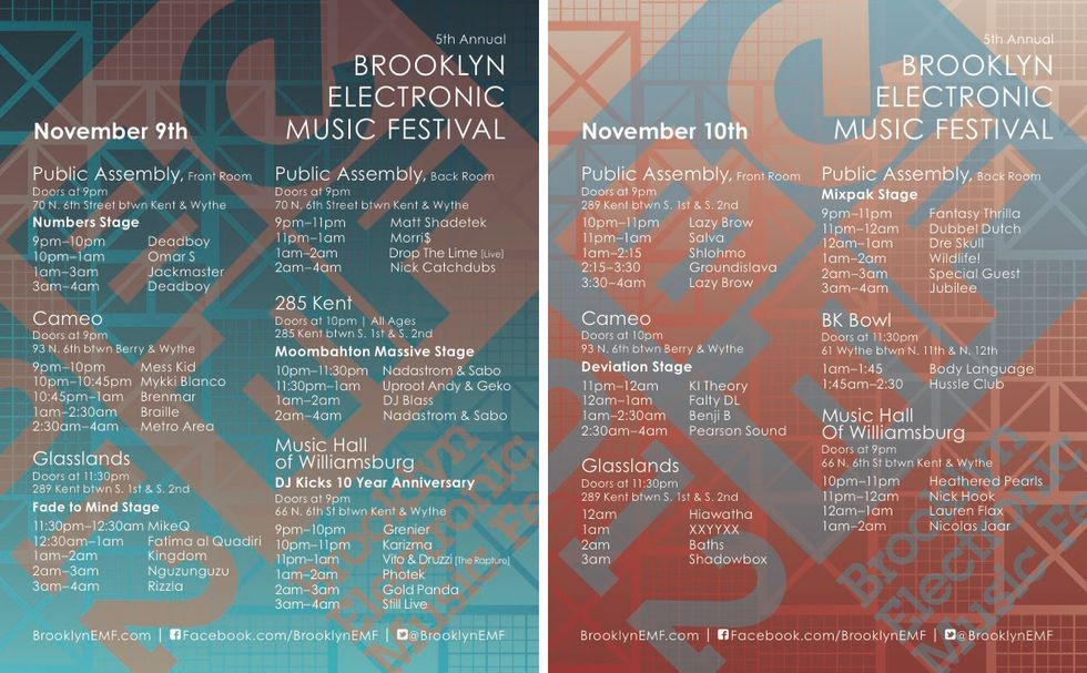 Paper's Guide to the Brooklyn Electronic Music Festival