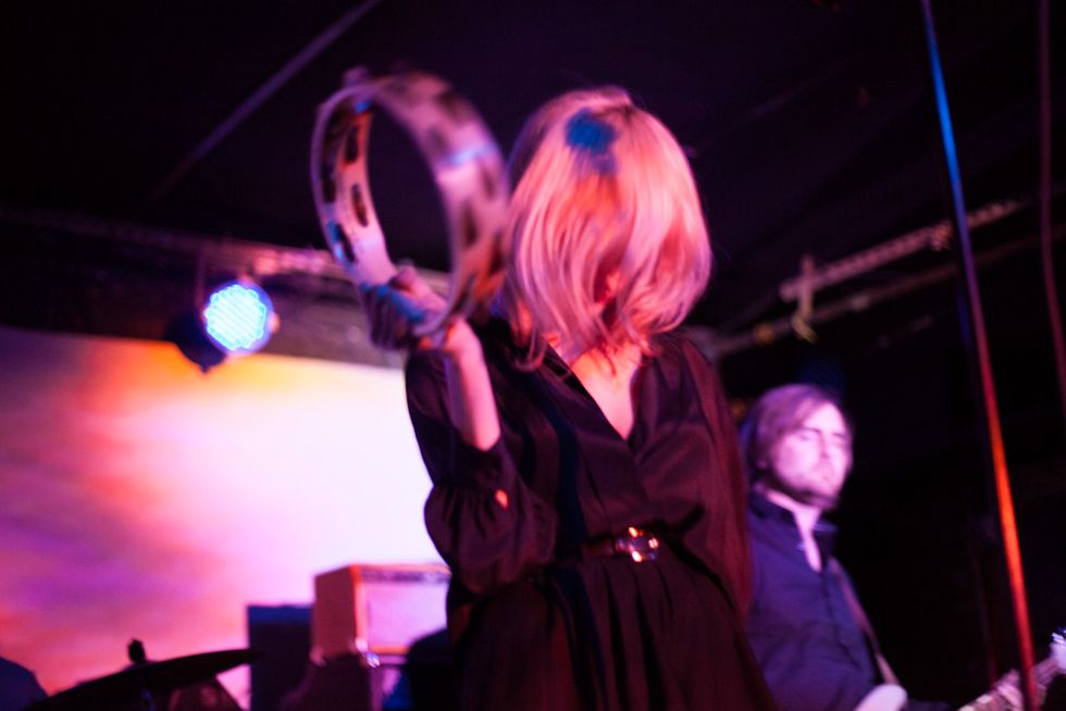 Scenes from Tamaryn's Ethereal Set at Mercury Lounge