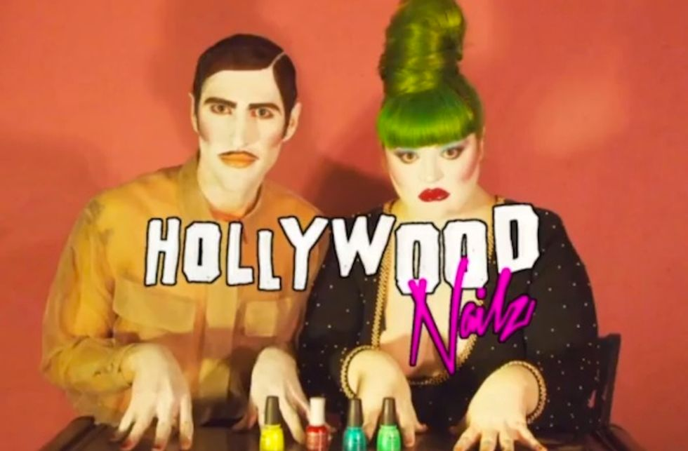 Check Out Seth Bogart and Brande Bytheway's Hollywood Nailz (Paper Premiere)