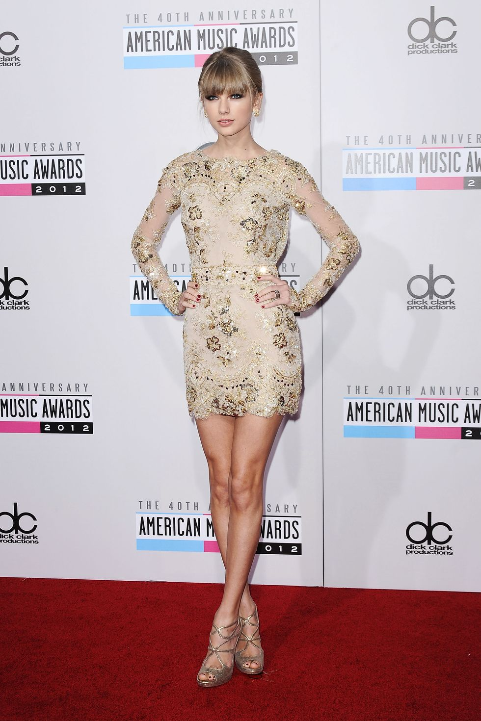 He Said, She Said: Rating the Fashion at the 40th Annual American Music Awards