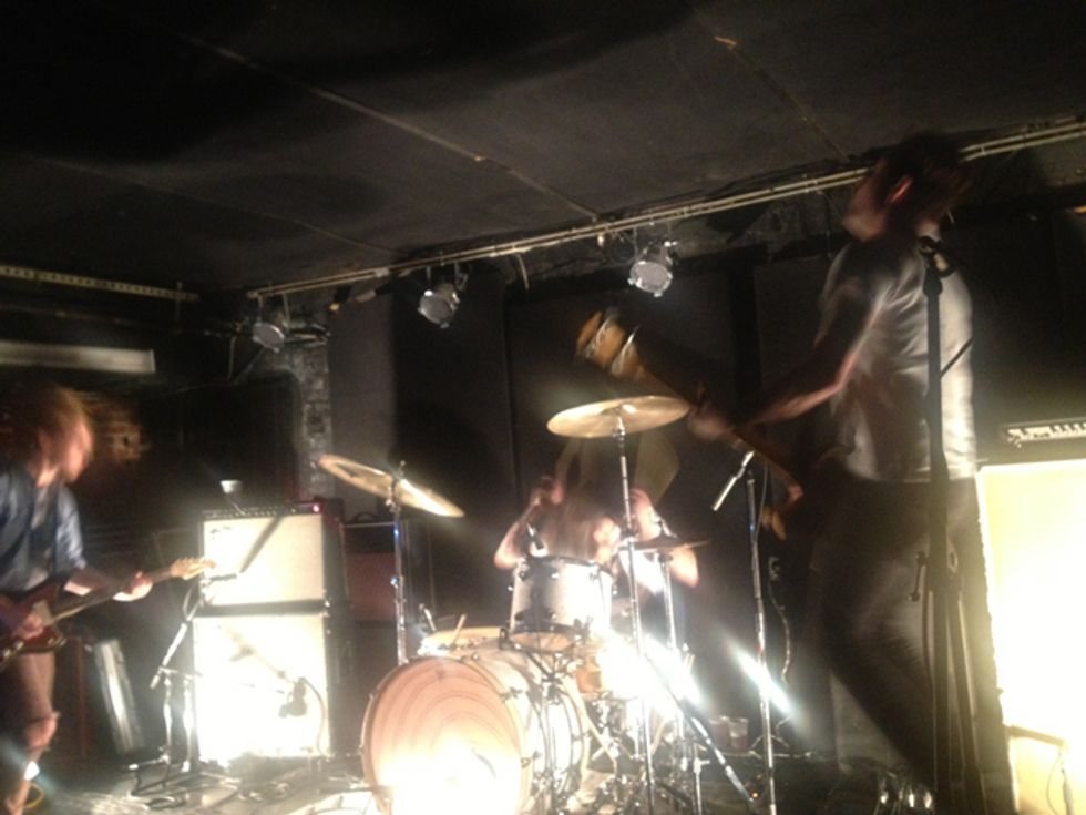 Live: METZ at Mercury Lounge