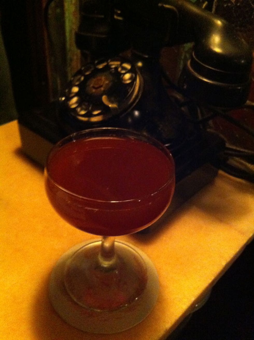 Cocktail of the Week: The Montgomery Slugger at Maison Premiere