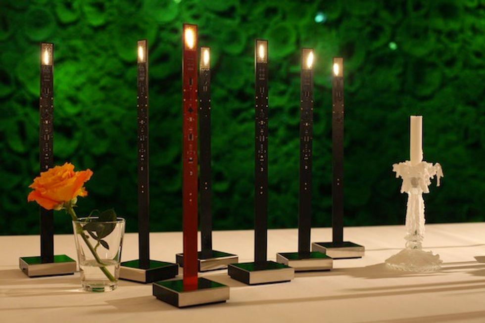 Check Out Ingo Maurer's Futuristic Digital Candles