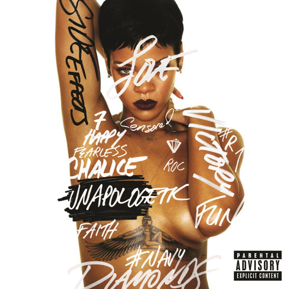 Rihanna Scores Her First #1 Album