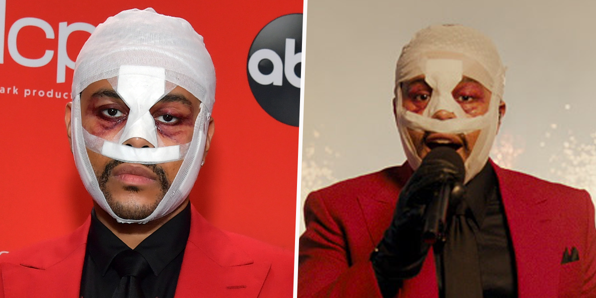 The Weeknd Finally Explains the Meaning Behind His Facial Bandages and Changing Face