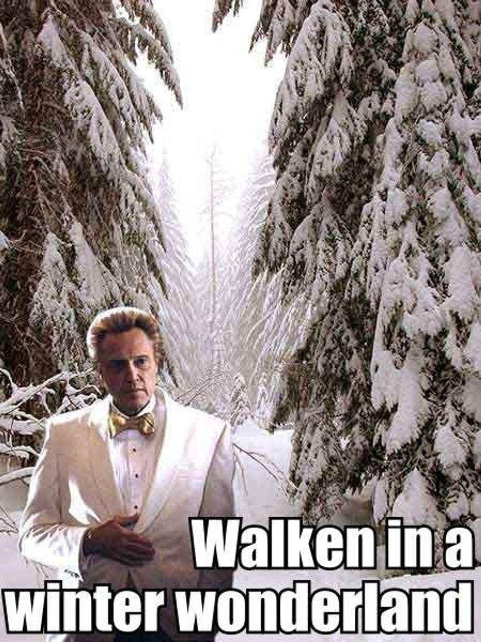 Morning Funnies: Chloe Sevigny's 12 Days of Christmas