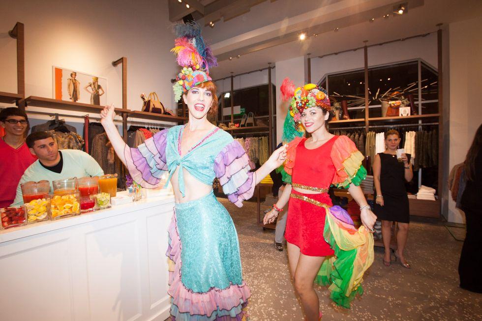 Scenes from United Colors of Benetton + PAPER's Tutti Frutti Art Basel Miami Party