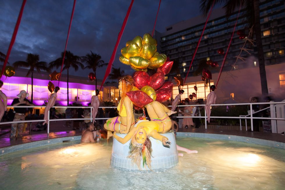 Scenes from the Art Basel Miami NADA Pool Party + More ...
