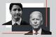 Canadian Prime Minister Justin Trudeau and US President Joe Biden
