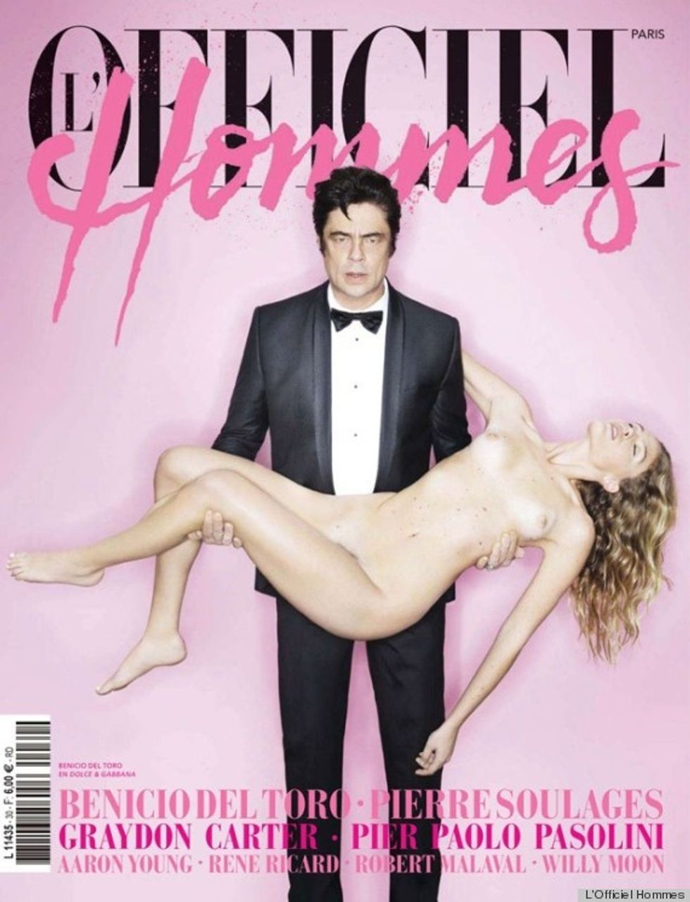 Style Scraps: Meggings, the New Thing + Benicio del Toro Carrying A Naked Woman