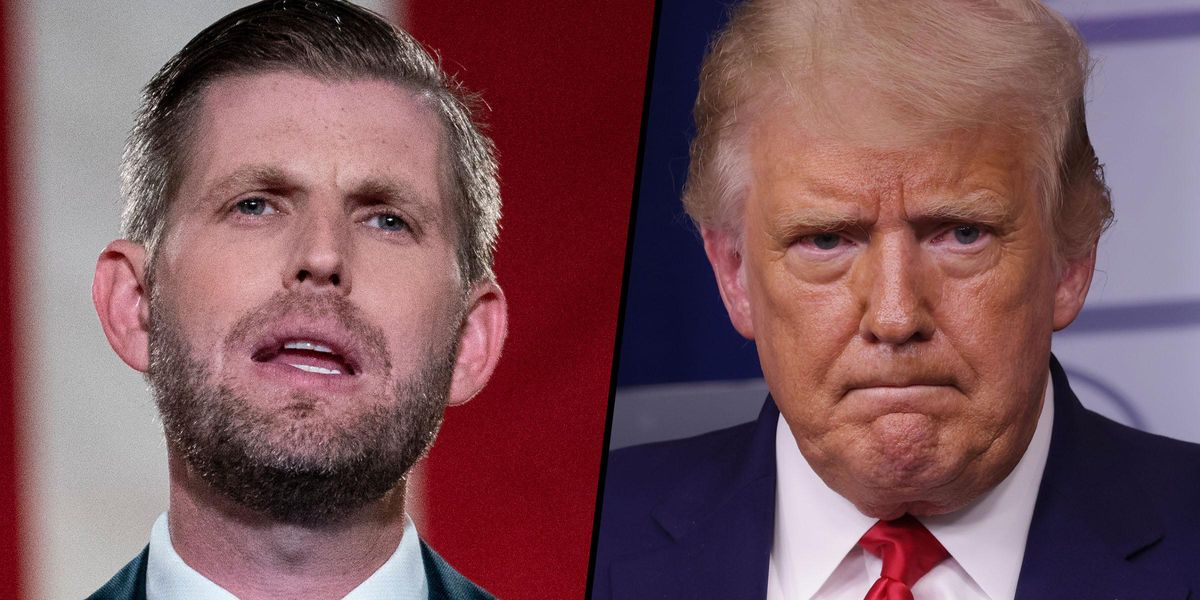 Eric Trump Said His Dad is 'Most Beloved Figure in US Political History'