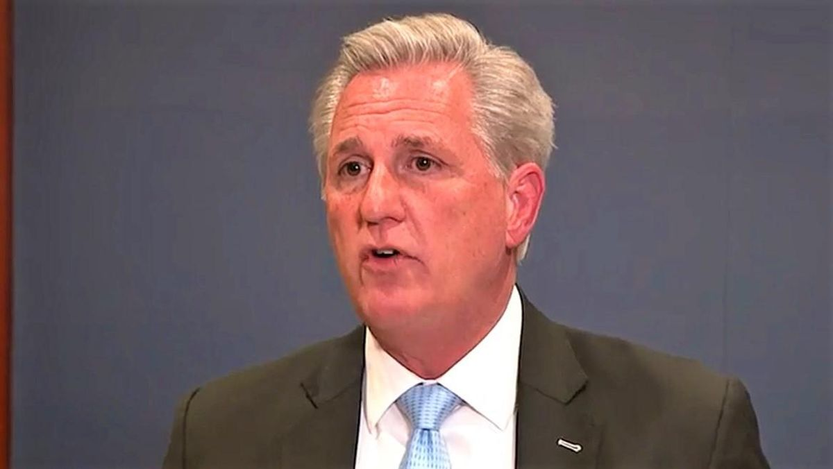 'Cowardly' Kevin McCarthy shredded by conservative columnist for pulling disappearing act after Trump phone call revelation