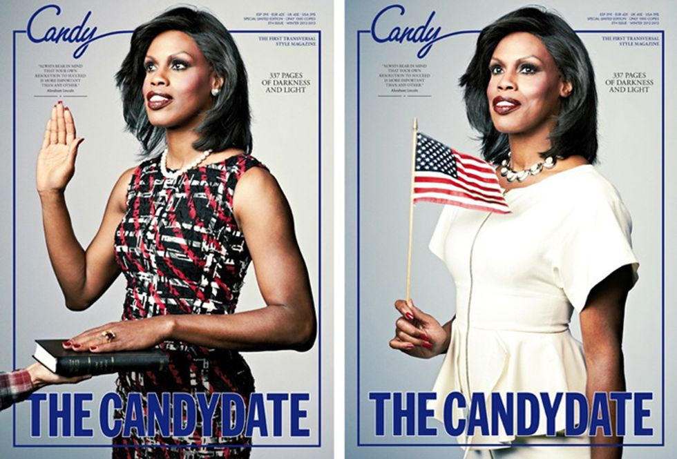 Candy Magazine's New Michelle Obama-Inspired Cover