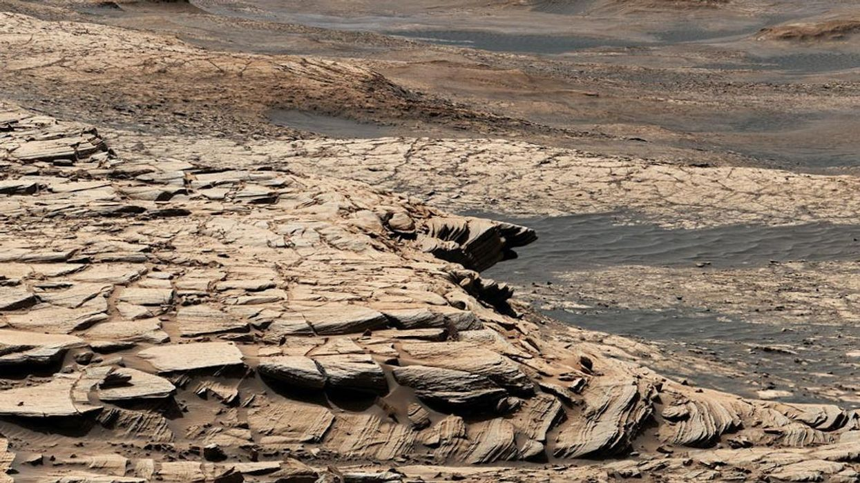 Looking for Evidence of Past Life on Mars