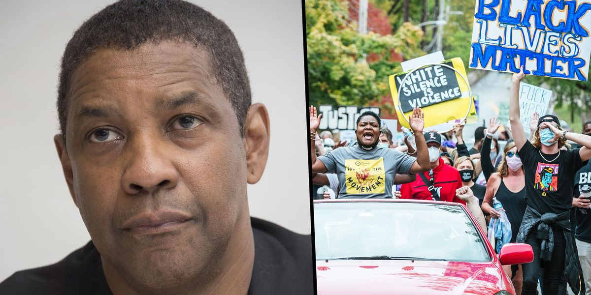 Denzel Washington Defends Cops Amid Black Lives Matter Movement