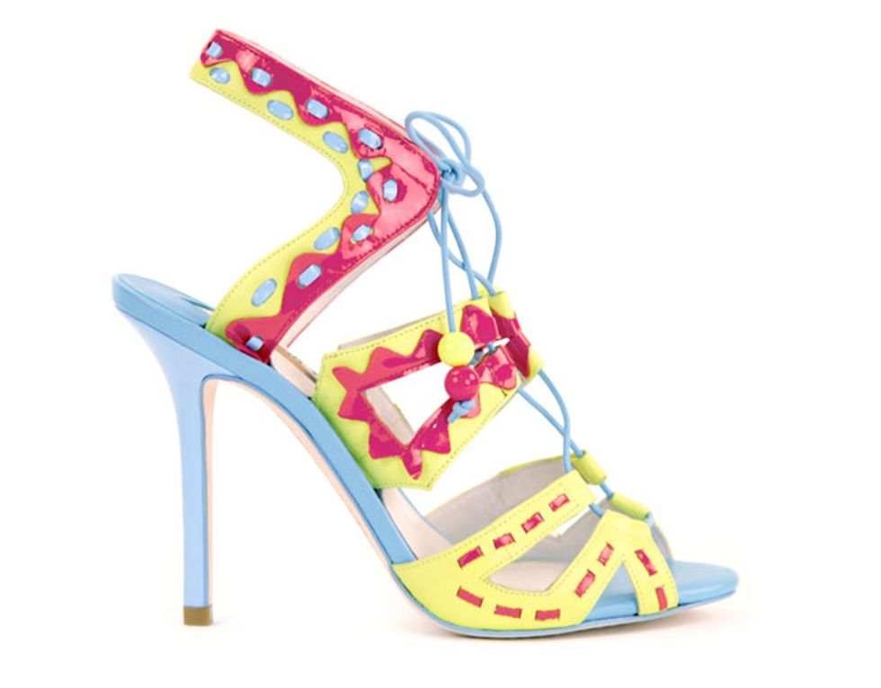 If the Shoe Fits: Designer Sophia Webster Is On the Rise