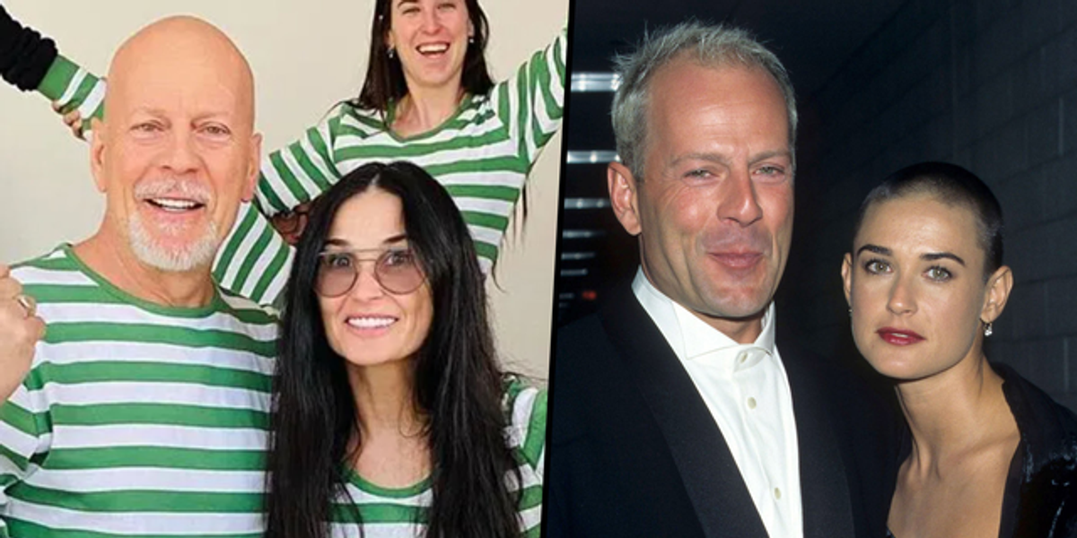 Demi Moore Calls Quarantining With Ex Bruce Willis a 'Real Blessing'