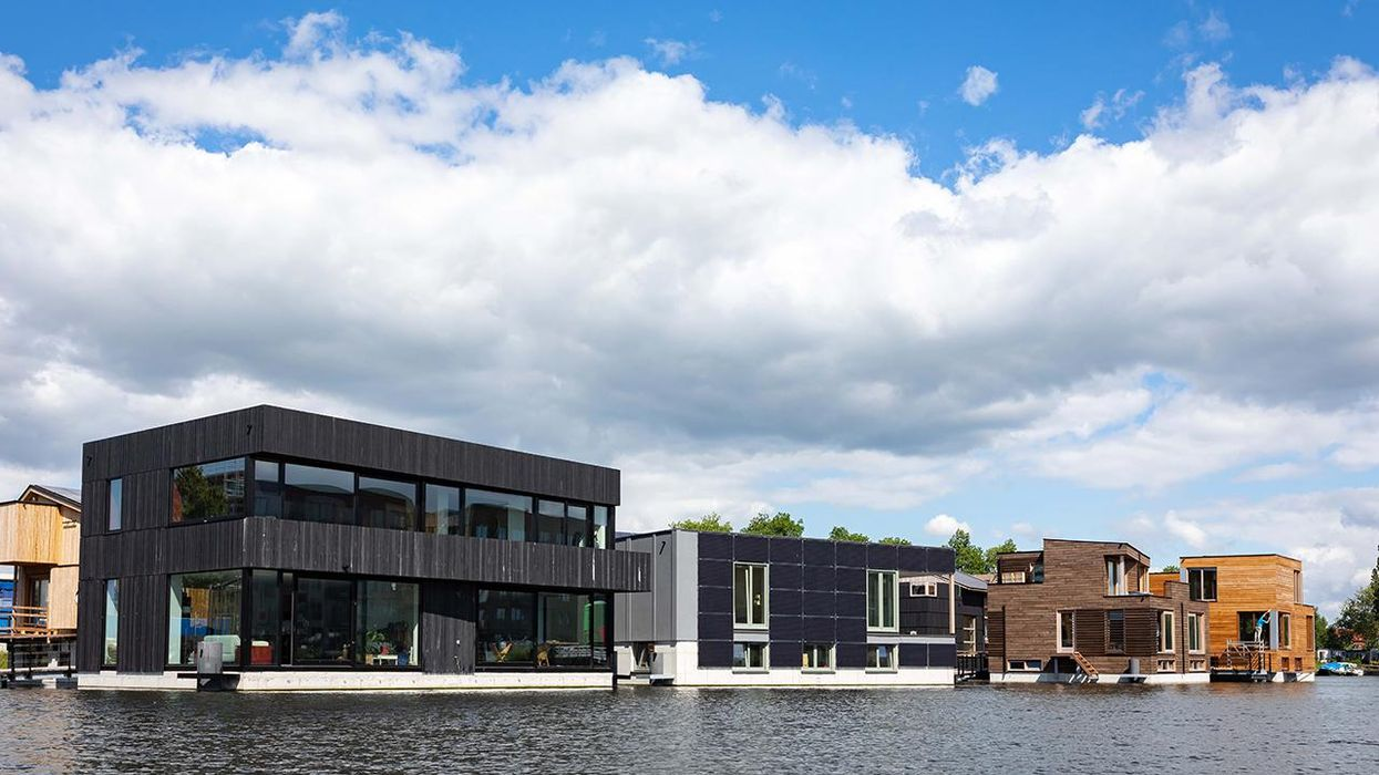 This Floating Village in Amsterdam Could Help Tackle City-Density and Sea-Level Challenges