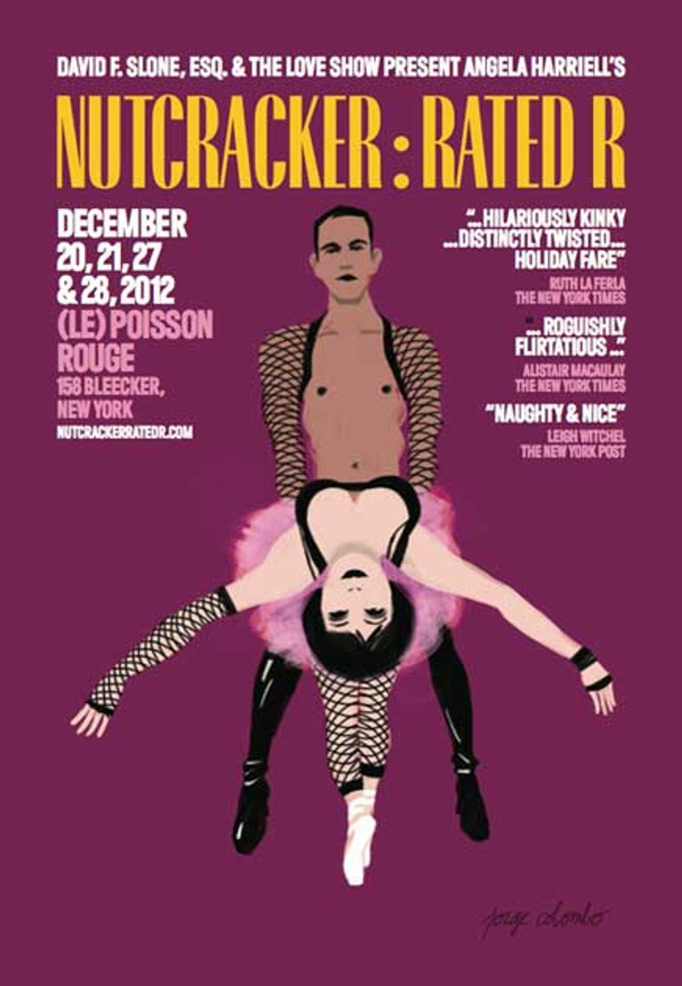Nutcracker: Rated R and More Tonight in NYC
