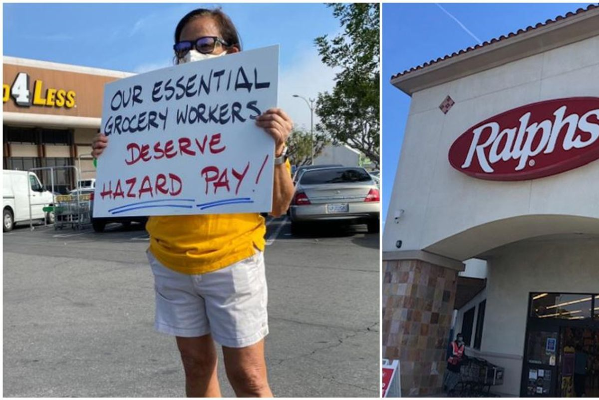 Kroger closes two California grocery stores because it refuses to give 'hero pay' to workers