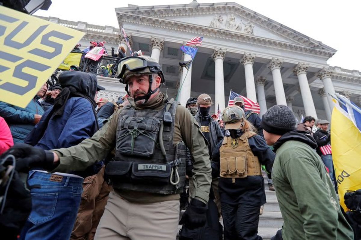 Feds indict three Oath Keepers on 'conspiracy to obstruct Congress': report